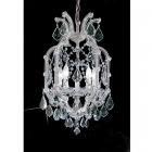 【CLT】クリスタルシャンデリア『MARIA THERESA』5灯 クローム(W360×H610mm)