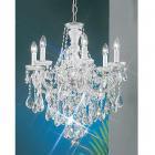 【CLT】クリスタルシャンデリア『MARIA THERESA』6灯 クローム(W560×H660mm)