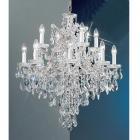 【CLT】クリスタルシャンデリア『MARIA THERESA』13灯 クローム(W690×H810mm)