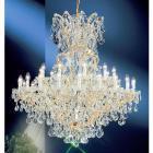 【CLT】クリスタルシャンデリア『MARIA THERESA』31灯 ゴールド(W1140×H1190mm)