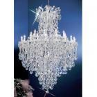【CLT】クリスタルシャンデリア『MARIA THERESA』31灯 クローム(W1140×H1680mm)