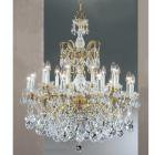 【CLT】クリスタルシャンデリア『Madrid Imperial』18灯 ブロンズ(W760×H890mm)
