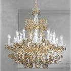 【CLT】スワロフスキーシャンデリア『Madrid Imperial』18灯 ブロンズ(W760×H890mm)
