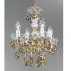【CLT】スワロフスキーシャンデリア『Madrid Imperial』4灯(W330×H430mm)