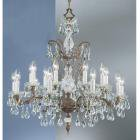 【CLT】クリスタルシャンデリア『Madrid Imperial』18灯(W760×H760mm)