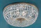 【CLT】シーリングシャンデリア『Crystal Baskets』8灯 ブロンズ(W600×H230mm)