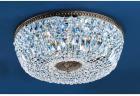 【CLT】シーリングシャンデリア『Crystal Baskets』8灯 ロマン・ブロンズ(W600×H230mm)