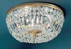【CLT】シーングシャンデリア『Crystal Baskets』5灯 ブロンズ(W450×H220mm)