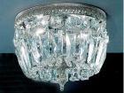 <b>【CLT】</b>シーリングシャンデリア『Crystal Baskets』2灯(W200×H170mm)