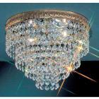 <B>【CLT】</B>シーングシャンデリア『Crystal Baskets』2灯 ブロンズ(W250×H200mm)
