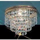 <B>【CLT】</B>シーングシャンデリア『Crystal Baskets』2灯ブロンズ(W200×H150mm)