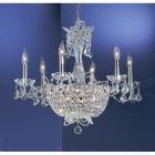 <B>【CLT】</B>クリスタルシャンデリア『Crown Jewels』15灯 クローム(W660×H560mm)