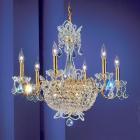 【CLT】クリスタルシャンデリア『Crown Jewels』15灯 ゴールド(W660×H560mm)