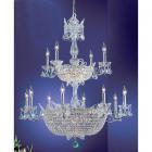 【CLT】クリスタルシャンデリア『Crown Jewels』32灯 クローム(W910×H1090mm)