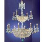 【CLT】クリスタルシャンデリア『Crown Jewels』32灯 ゴールド(W910×H1090mm)