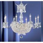 <B>【CLT】</B>クリスタルシャンデリア『Crown Jewels』24灯 クローム(W760×H660mm)