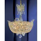 【CLT】クリスタルシャンデリア『Crown Jewels』16灯 ゴールド(W500×H580mm)