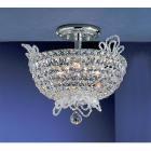 【CLT】シーリングクリスタルシャンデリア『Crown Jewels』6灯 クローム(W350×H330mm)