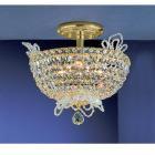 【CLT】シーリングクリスタルシャンデリア『Crown Jewels』6灯ゴールド(W350×H330mm)