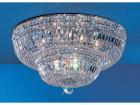 【CLT】クリスタルシーリングシャンデリア『Empress』12灯 クローム(W600×H300mm)