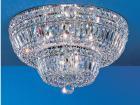 【CLT】クリスタルシーリングシャンデリア『Empress』12灯 クローム(W450×H250mm)