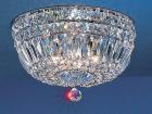 【CLT】クリスタルシーリングシャンデリア『Empress』4灯 クローム(W300×H180mm)