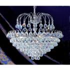 【CLT】ボールクリスタルシャンデリア『Diamante』7灯 クローム(W580×H480mm)