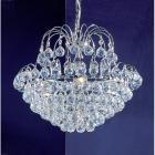 【CLT】ボールクリスタルシャンデリア『Diamante』5灯 クローム(W430×H330mm)