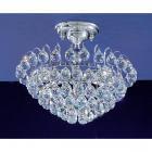 【CLT】ボールシーリングシャンデリア『Diamante』3灯 クローム(W300×H280mm)