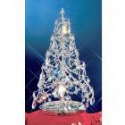 【CLT】クリスタルステーブルツリー『Christmas Trees』1灯 クローム(W300×H530mm)