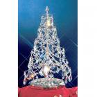 【CLT】スワロフスキー使用テーブルツリー『Christmas Trees』1灯 クローム(W300×H530mm)