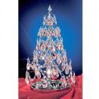 【CLT】クリスタルクリスマスツリー『Christmas Trees』1灯 クローム(W300×H530mm)