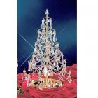 【1台在庫有!】【CLT】スワロフスキー使用クリスマスツリー『Christmas Trees』1灯 ゴールド