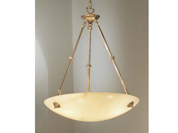【CLT】 アラバスターシャンデリア『Mallorca』3灯 ブロンズ(W610×H700mm)