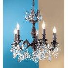 【CLT】クリスタルシャンデリア『Chateau Imperial』5灯 ブロンズ(W450×H460mm)