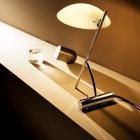 <B>【DeMajo】</B> イタリア製 デザイン・ガラスシェードテーブルライト 1灯 (W200×H300mm)