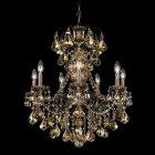 <B>【SCHONBEK】</B>クリスタルシャンデリア『NEWORLEANS』7灯(W610×H690mm)