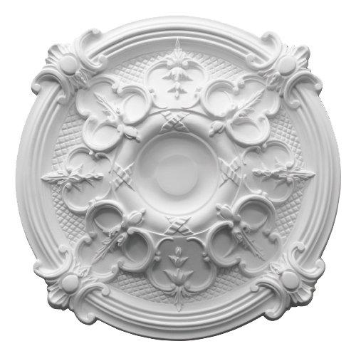 【在庫有!】 シャンデリアをよりエレガントに★シーリングメダリオン(Φ437×50mm)
