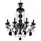 <B>【SCHONBEK】</B>クリスタルシャンデリア『HAMILTON ROCK CRYSTAL』8灯(W710×H890mm)