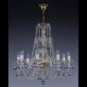 【ART GLASS】クリスタルシャンデリア「ANDULA」8灯(W640×H600mm)