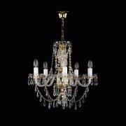 【ART GLASS】クリスタルシャンデリア「SULIKA」5灯(W500×H470mm)