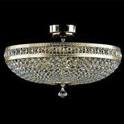 <B>【ART GLASS】</B>チェコクリスタルシーリングシャンデリア 6灯(W500×H280mm)