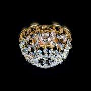 【1台在庫有!ゴールドのみ】【ART GLASS】天井のダウンライトをキラキラに装飾♪ ダウンライト用クリスタル(φ120mm)