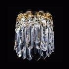 <B>【ART GLASS】</B>天井のダウンライトをキラキラに装飾♪ ダウンライト用クリスタル(φ120mm)
