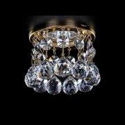 <B>【ART GLASS】</B>天井のダウンライトをキラキラに装飾♪ ダウンライト用クリスタル(φ80mm)