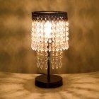 <b>【即納可!】</b>アンティーク調テーブルランプ「ミュゼ・ダークゴールド」1灯(φ150×H290mm)