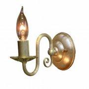 <b>【LAMPS】</B>アンティーク調アイアンウォールランプ 1灯(W100×D200×H190mm)