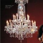 <b>【Voltolina】</B>イタリア製クリスタルシャンデリア 24灯(φ1050×H1360mm)