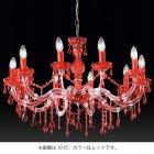 【Voltolina】イタリア製クリスタルシャンデリア「ヴィエンナ Plus」 8灯 (W700×H520mm)
