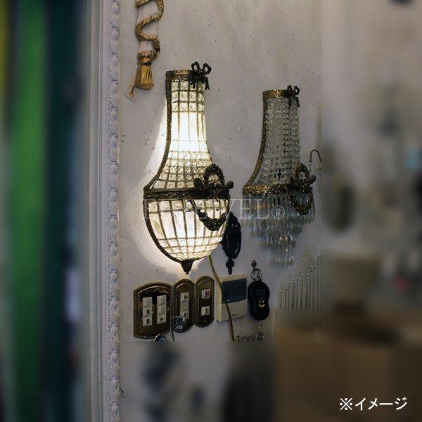 【TIEF】フランス製アールヌーボー様式ウォールブラケット2灯(H500mm)